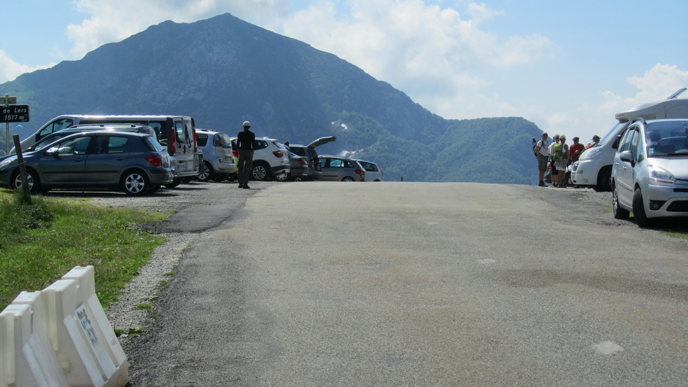 parking of Port de Lers - June 2015